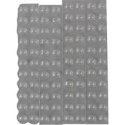 CS101 [まとめ買い しっかりつくクッションゴム7.9mm径×2.2mm丸形88粒入]