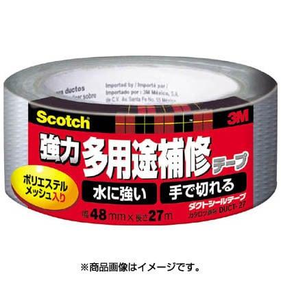 DUCT27 [スコッチ 強力多用途補修テープ 48mm×27m シルバー]