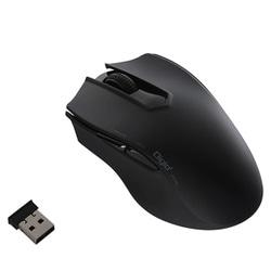 MUS-RKF127BK [無線5ボタン オートスピード Blue LEDマウス ブラック]