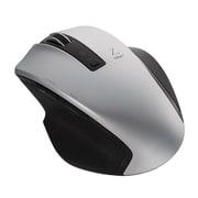 MUS-BKF131SL [BlueLED Bluetoothマウス Z 5ボタン Mサイズ シルバー]