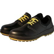 WS11BKS25.5 [安全靴 短靴 WS11黒静電靴 25.5cm]