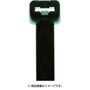 MET.3.2105R [メット ステンレスツメイリケーブルタイクロ 2.5mm×200mm 最大結束55mm]