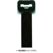 MET.3.2110R [メット ステンレスツメイリケーブルタイクロ 3.5mm×140mm 最大結束36mm]
