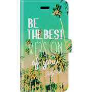 手帳ケース iP7 Surf days Hello Summer [iPhone 7 ケース]