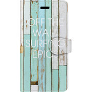 手帳ケース iP7 Surf days Off the wall [iPhone 7 ケース]