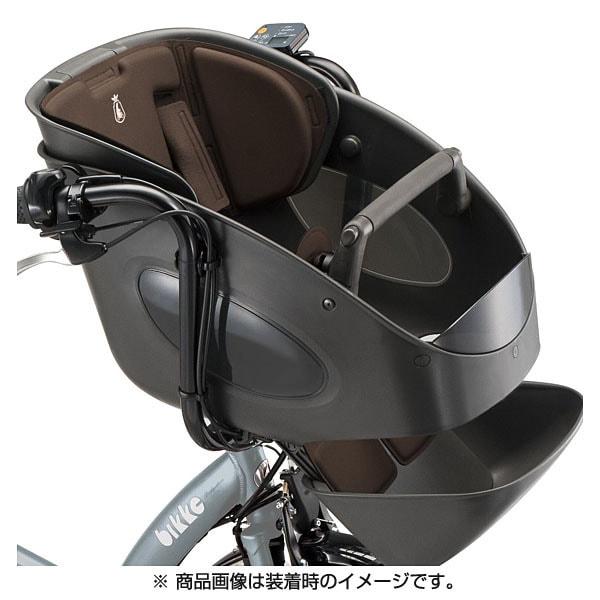 FBP-K(B403561DBR)bikke POLAR フロントチャイルドシートクッション ダークブラウン