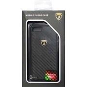 LB-TPUPCIP7-EL/D3-BK [iPhone 7 対応 Lamborghini カーボンケース ブラック]
