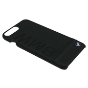 BMHCP7LLLSB [iPhone 7 Plus 対応 BMW 高級本革バックカバーケース ブラック]