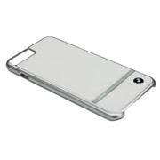BMHCP7LASWH [iPhone 7 Plus 対応 BMW アルミパネルバックカバーケース ホワイト]