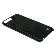 BMHCP7LMBC [iPhone 7 Plus 対応 BMW リアルカーボンバックカバーケース]