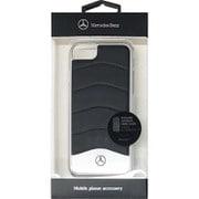 MEHCP7CUSBK [iPhone 7 対応 Mercedes-Benz 高級本革バックカバーケース ブラック]