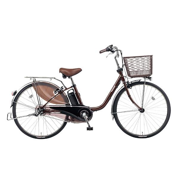 BE-ELD633T [電動アシスト自転車 ビビ・DX 26型 16Ah 内装3段変速 チョコブラウン 2017年モデル]
