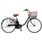 BE-ELF43T [電動アシスト自転車 ビビ・FX 24型 12Ah 内装3段変速 チョコブラウン 2017年モデル]