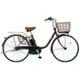 BE-ELF63T [電動アシスト自転車 ビビ・FX 26型 12Ah 内装3段変速 チョコブラウン 2017年モデル]