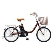 BE-ELLS03T [電動アシスト自転車 ビビ・LS 20型 12Ah 内装3段変速 チョコブラウン 2017年モデル]