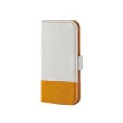 AVA-T16PLFDTWH [iPod touch 2015 ツートーンデザインソフトレザーカバー ホワイト]