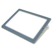 A4-500 [A4サイズ 調光機能付 薄型 LED トレース台 トレビュアー 3段階高さ調節可能 グレー]