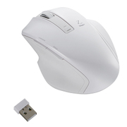 MUS-RKF129W [BlueLED 無線マウス Z 5ボタン Mサイズ 2.4GHz ホワイト]