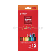 KM161 [KUM 色鉛筆 12色]