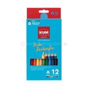 KM163 [KUM 太軸色鉛筆 12色]