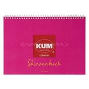 KM165P [KUM スケッチブック A4 ピンク]