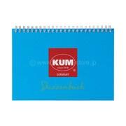 KM166A [KUM スケッチブック A5 ブルー]