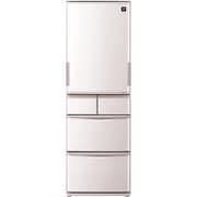SJ-PW41C-C [プラズマクラスター冷蔵庫 (412L・どっちもドア) 5ドア ベージュ]