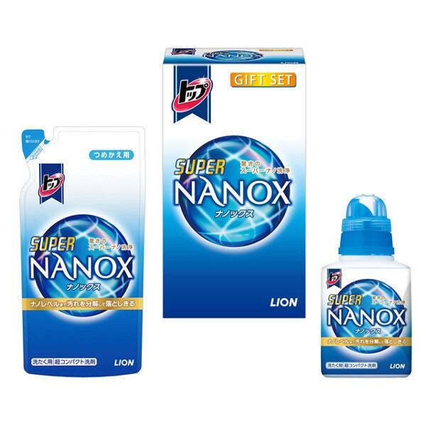 LSN-10V [トップ ナノックス ギフトセット スーパーNANOX 450g(本体)×1本/つめかえ用360g×1袋]