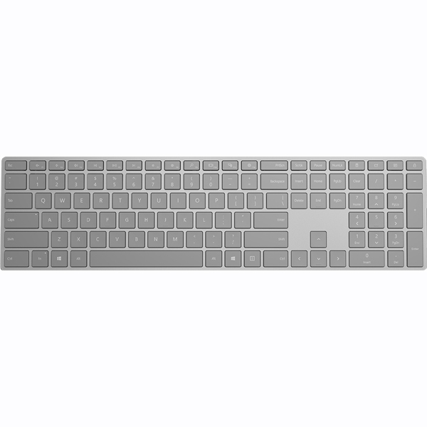 WS2-00024 [Surface ワイヤレスキーボード 英語版 Bluetooth対応 シルバー]
