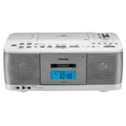 TY-CDK9 W [CD ラジカセ ワイドFM対応 ホワイト]