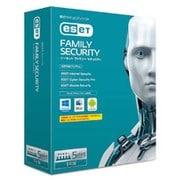 ESET ファミリー セキュリティ 1年版 [Windows/Mac/Androidソフト 5台まで]