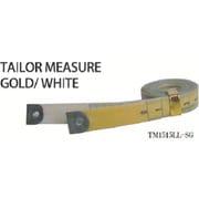 TM1515LLSG [テーラーメジャー1.5m 余白有 白/ゴールド]