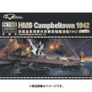 FLYFH1105 [1/700スケール 艦船シリーズ イギリス海軍 旧ウィックス級駆逐艦 HMS キャンベルタウン 1942 (通常版)]