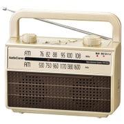 RAD-M067Z-NE [AudioComm 耳元スピーカー ラジオ付き ワイドFM対応 シャンパンゴールド]