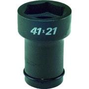 34WBQ4121 [コンビネーションソケット 差込角 19mm 6角 41mm 4角 21mm]