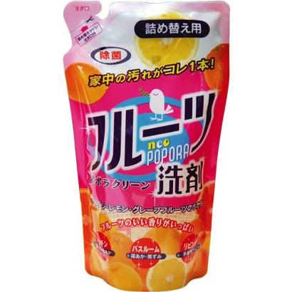フルーツ洗剤 ネオポポラ ポポラクリーン 詰め替え用 360ml