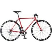 AFRT527 OR55 [クロスバイク Freedom Flat(フリーダム フラット) 700×25C 52cm 外装16段変速 メタルレッド]