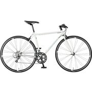 AFRT527 OW40 [クロスバイク Freedom Flat(フリーダム フラット) 700×25C 52cm 外装16段変速 シャイニーパールホワイト]