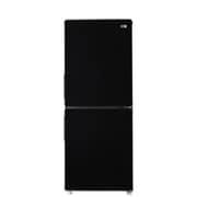 JR-NF148A K [ファン式 冷蔵冷凍庫 148L 右開き 2ドア ブラック]