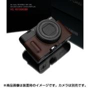 HG-RX100M3BR [ソニー RX100M5/M4/M3 用カメラケース ブラウン]