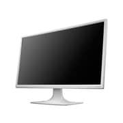 LCD-MF244EDSW [5年保証 23.8型 ワイド液晶ディスプレイ ホワイト]