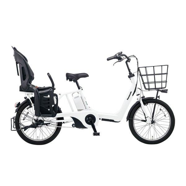 BE-ELAE03F [電動アシスト自転車 ギュット・アニーズ・EX 20型 20Ah 内装3段変速 アクティブホワイト 2017年モデル]