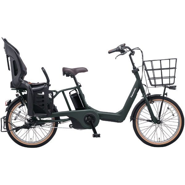 BE-ELAE03G [電動アシスト自転車 ギュット・アニーズ・EX 20型 20Ah 内装3段変速 マットディープグリーン 2017年モデル]