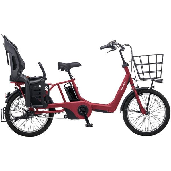 BE-ELAE03R [電動アシスト自転車 ギュット・アニーズ・EX 20型 20Ah 内装3段変速 マットチェリーレッド 2017年モデル]