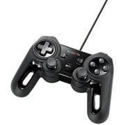 JC-U4013SBK [USBゲームパッド/13ボタン/Xinput/振動/連射/高耐久/ブラック]
