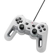 JC-U4013SWH [USBゲームパッド/13ボタン/Xinput/振動/連射/高耐久/ホワイト]