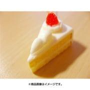 サンプルストラップ 三角ケーキ ホワイト
