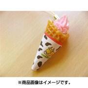 サンプルストラップ ソフトクリーム ストロベリー
