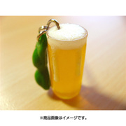 サンプルストラップ ビール 枝豆