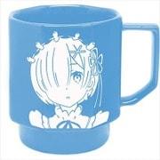 Re:ゼロから始める異世界生活 HASAMIマグカップ レム.Ver [キャラクターグッズ]